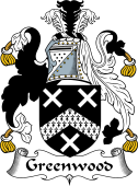 English Coat of Arms for Greenwood