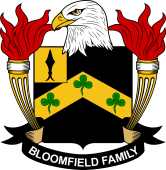 American Coat of Arms for Bloomfield