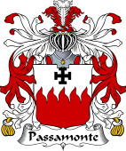 Italian Coat of Arms for Passamonte