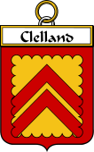 Irish Badge for Clelland or McClelland