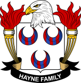 American Coat of Arms for Hayne