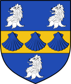 English Family Shield for Meacham