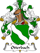 German Wappen Coat of Arms for Otterbach