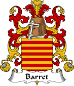 Coat of Arms from France for Barret