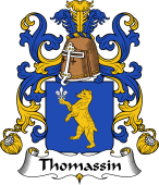 Coat of Arms from France for Thomassin