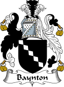 English Coat of Arms for Baynton
