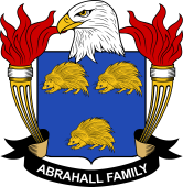 American Coat of Arms for Abrahall