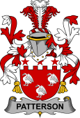 Irish Coat of Arms for Patterson